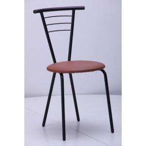 Кухонный стул AMF Бонус черный кожзам неаполь