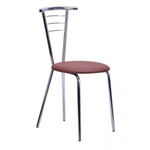 Кухонный стул AMF Бонус Хром кожзам мадрас
