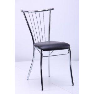 Кухонный стул AMF Эмили Хром кожзам неаполь