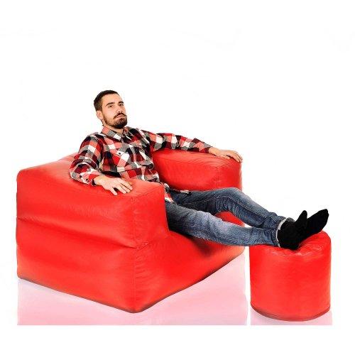 Кресло Twix Fly bag XXL + пуфик