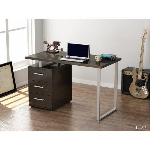 Письменный стол Loft Design L 27 ДСП венге корсика