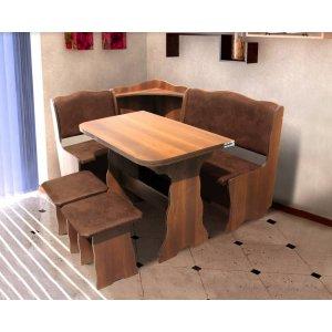 Кухонный комплект Симфония Микс Мебель стол+угол+ 2 табуретки