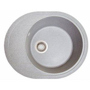 Мойка для кухни из иксусственного камня Comfy серый (гранитная)