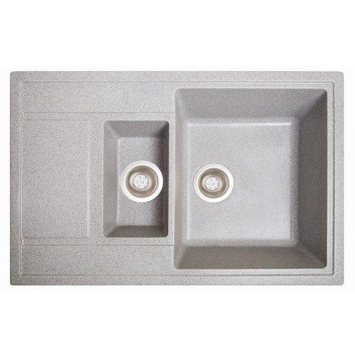 Кухонная мойка гранитная из камня Practic серый