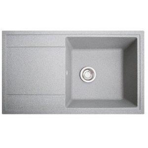 Кухонная мойка гранитная из камня Total серый